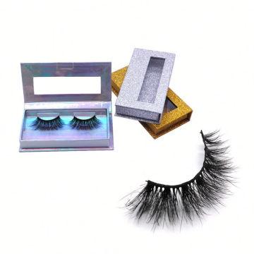 602 Hitomi eyelash vendor customized boxes High Quality Mink Lashes paper eyelash packaging 3d real mink eyelash