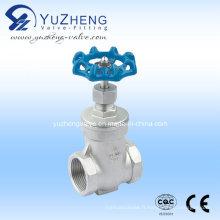 Vanne de fermeture à fil en acier inoxydable (Z11W)