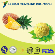 2015 Chine naturelle fournisseur nourriture et boisson aucune poudre de jus d'ananas de colorant