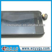 promoción suave pvc móvil polvo plástico tapón de goma