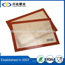 2016 New Fiberglass BPA Free Baking Mat With Food Grade Silicone Material Coating                                                                         Quality Choice