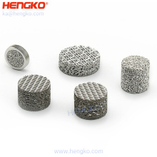 Factory price durable sintered porous stainless steel 316L bronze metal filter