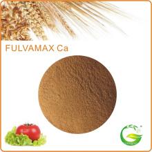 Ácido fúlvico orgánico soluble y fertilizante de calcio de aminoácidos