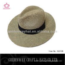 Chapéu de palha vaqueiro de moda para homem