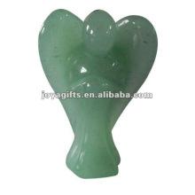 Green Aventurine Gemstone Angel Craft Collect