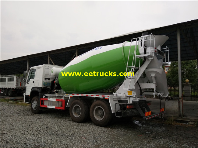 10000L Cement Mixing Vehicles