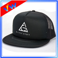 Custom Logo Black Mesh Trucker Cap