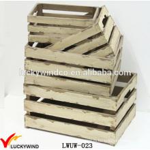 Деревянные ящики Apple