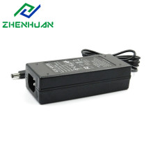 12V / 6A Черный адаптер усилителя мощности переменного / постоянного тока, 72 Вт