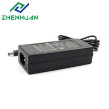 Adaptador de amplificador de potencia de audio negro AC / DC de 12V / 6A 72W