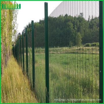 ПВХ с покрытием против подъема 358 садовый забор высокой безопасности