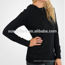 Hot Sale Women 100% Cashmere Jumper Hoodie Sweater