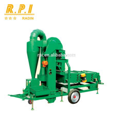 Grain Seed Air Screen Cleaner Machine with Cyclone Duster