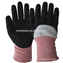 Sunnyhope atacado nitrilo anit cortar luvas de inverno personalizadas