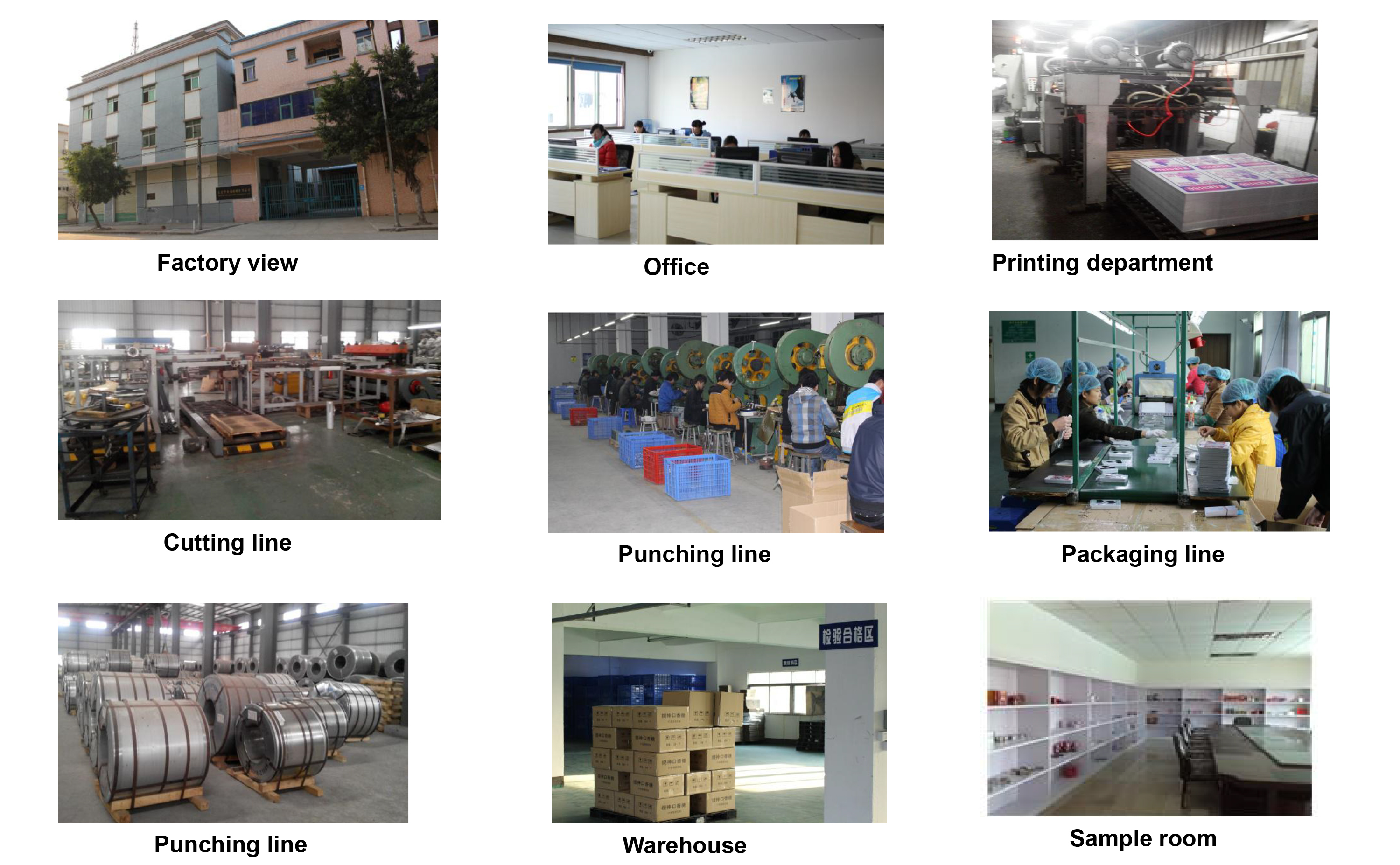 factory of tin box produce