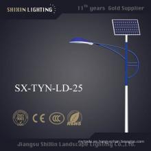 Ce aprobó la luz de calle solar IP68 7m 30W LED