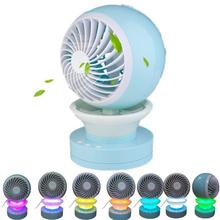Quiet Rechargeable Personal Portable Table Fan for Bedroom