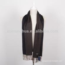 bufanda de lana de los colores reversibles de los hombres
