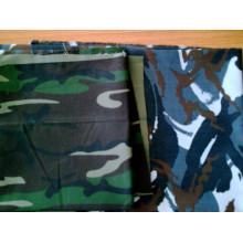 50 poyester 50 tissu de camouflage de ripstop de coton