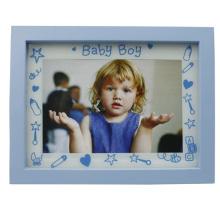 Baby 4x6inch blau Kunststoff Bilderrahmen für Jungen