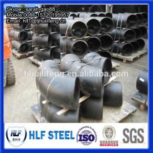 Coude en acier au carbone de 8 pouces