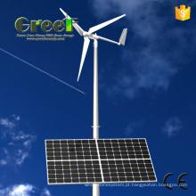 Sistema híbrido Solar de vento horizontal e Vertical com Ce