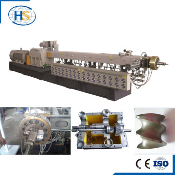 Machine de pelletiseur en plastique de Masterbatch de remplisseur élevé de pp / PE