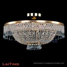 2017 Vente Chaude Cristal LED Plafonnier Lustre Lumière LT-51138