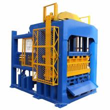 Máquina de fabricación de bloques de cemento automático QTF10-15