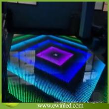 Acrílico Interactivo Ilumina LED Dance Pisos