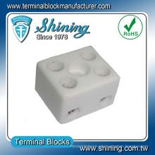 Conector de alambre Bloque de terminales de cerámica de alta temperatura eléctrica