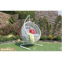 COLECCIÓN EAGLE - Rattan sintético más vendido Hamaca redonda - Silla giratoria Muebles de jardín