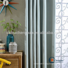 Plain dyed pattern ready made curtains for hotel