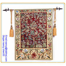 wall led antique tapestry rod