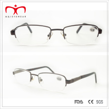 Half Rim Metal Reading Glasses with Spring Temple (WRM503034)
