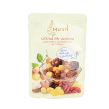Plastic Food Stand up Pouch Bottom Composite Aluminized Zipper Zip Lock Ziplock Coffee Bean Powder Snack Nuts Packaging Bag with Euro Hole