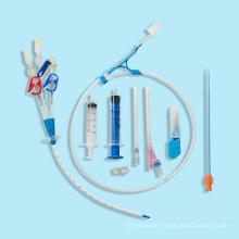 Disposable Hc Kit Disposable Products Single/Double/Triple Lumen Hemodialysis Catheter
