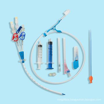 Disposable Single/Double/Triple Lumen Hemodialysis Catheter
