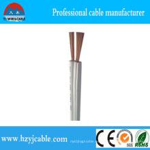2cx10-20AWG Spt-3 coloreó el conductor del cobre / CCA del PVC con UL y estándar de RoHS