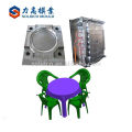 Hot selling plastic table household plastic table and chair mould