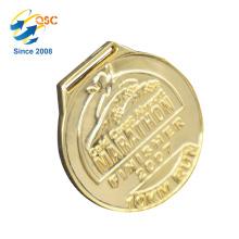 Nuevo producto Excelente calidad Nuevas medallas de diseño Forma de anillo personalizada Diseña tu propia medalla