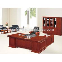 Mesa de escritório de luxo mesa executiva executiva