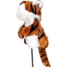 Tiger Golf Animal Driver - Cubierta de madera para cabeza