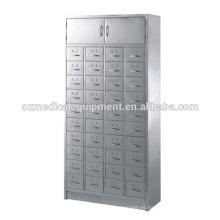 Gabinete de almacenamiento médico de acero inoxidable