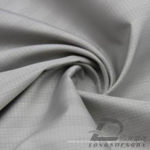 Wasser & Wind-resistent Mode Jacke Daunenjacke gewebt Plaid Jacquard 100% Polyester Sea-Island Filament Stoff (X042)