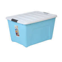 Plastic Storage Box Container with Lock for Home