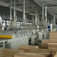 Hot sale Engineered wood flooring machine line for making wood floor