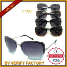 К 2015 году торговые гарантии модные солнцезащитные очки оптом в Китае (F7385)
