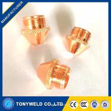 Tianzong100 piezas de plasma electrodo y boquilla