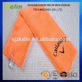 Gesticktes einfarbig gefärbtes Mikrofaser Golfhandtuch mit Haken